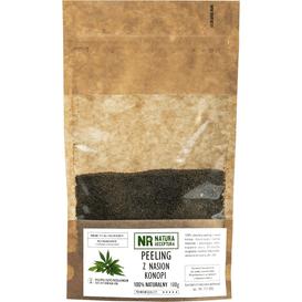Natura Receptura [OUTLET] Peeling z nasion konopii, 100 g