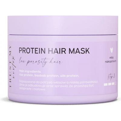 Proteinowa maska do włosów niskoporowatych Trust My Sister