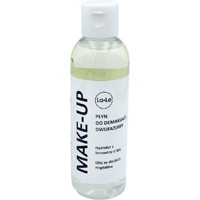Płyn do demakijażu dwufazowy - Hydrolat borowina z lipą i olej ze słodkich migdałów La-Le Kosmetyki