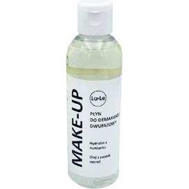 La-Le Kosmetyki Płyn do demakijażu dwufazowy - Hydrolat z rumianku i olej z pestek moreli, 100 ml