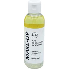 La-Le Kosmetyki Płyn do demakijażu dwufazowy - Hydrolat z białej i zielonej herbaty i olej ryżowy, 100 ml
