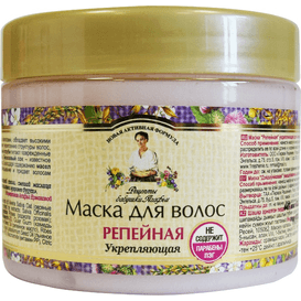 Receptury Agafii [OUTLET] Łopianowa maska do włosów, 300 ml