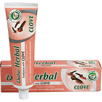 Pasta do zębów z wyciągiem z goździka bez fluoru Dabur