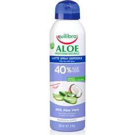 Equilibra Aloesowe mleczko po opalaniu w sprayu, 150 ml