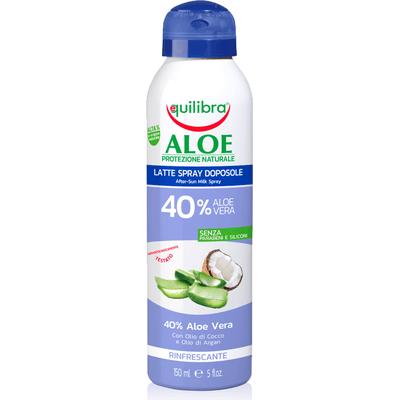 Aloesowe mleczko po opalaniu w sprayu Equilibra