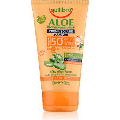 Aloesowy krem przeciwsłoneczny dla dzieci SPF 50+ Equilibra