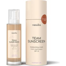 Resibo Krem nawilżający SPF 30 Team Sunscreen, 50 ml