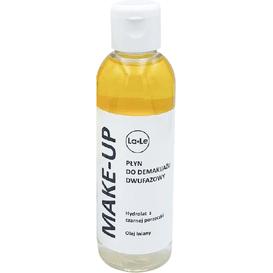 La-Le Kosmetyki Płyn do demakijażu dwufazowy - Hydrolat z z porzeczki z olejem lnianym, 100 ml