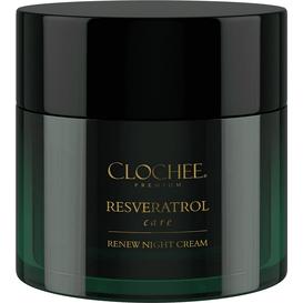 Clochee Premium Resveratrol care - Odbudowujący krem na noc, 50 ml