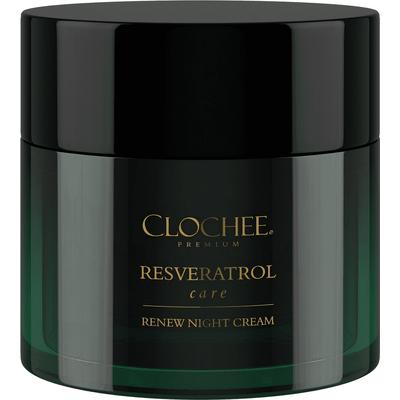 Premium Resveratrol care - Odbudowujący krem na noc Clochee