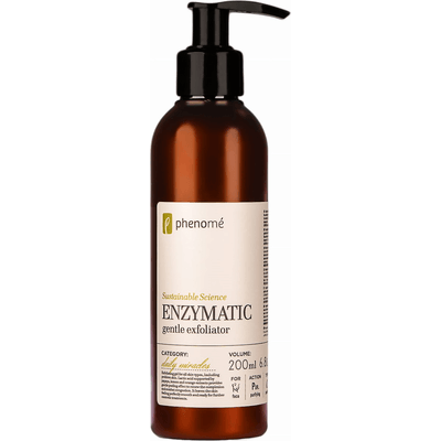 Enzymatic gentle exfoliator - Peeling enzymatyczny z kwasem mlekowym do skóry wrażliwej i tłustej Phenome