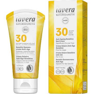 Krem ochronny dla skóry wrażliwej SPF 30 (data ważności: 31.01.2022) Lavera