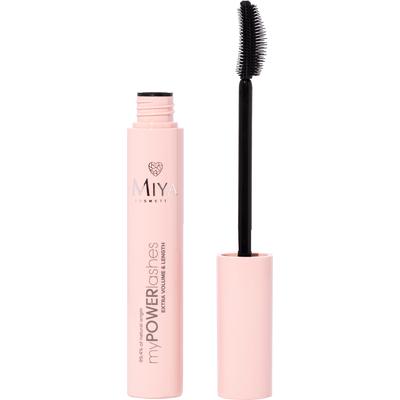 Mascara do rzęs myPOWERlashes - objętość, wydłużenie i wzmocnienie Miya