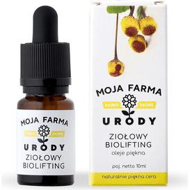 Moja Farma Urody Olej upiększający - Liftingujący eliksir - ziołowy biolifting, 10 ml
