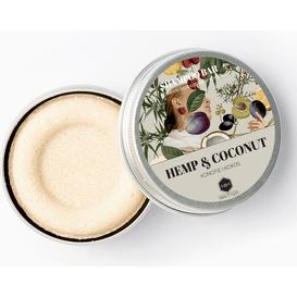 Herbs&Hydro Szampon w kostce - Konopie z Kokosem - puszka, 55g