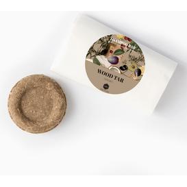 Herbs&Hydro Szampon w kostce - Dziegieć - refill, 55g