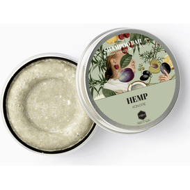 Herbs&Hydro Szampon w kostce - Konopie (may chang) - puszka, 55g