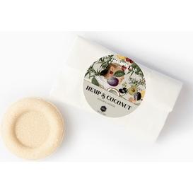 Herbs&Hydro Szampon w kostce - Konopie z Kokosem - refill, 55g