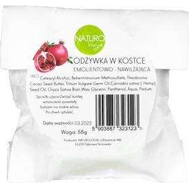 Naturologia Odżywka w kostce - Emolientowo - nawilżająca - refill, 58g