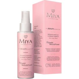 Miya FLOWER BeautyPower - Aktywna esencja do twarzy - róża, peonia, hibiskus, 100 ml