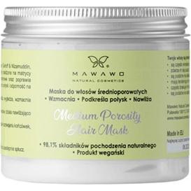 Mawawo Maska do włosów średnioporowatych, 200 ml