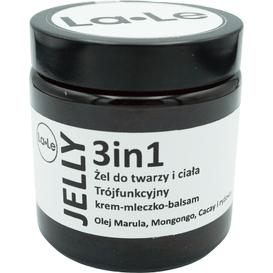 La-Le Kosmetyki Trójfunkcyjny żel do twarzy i ciała - Jelly 3 in 1, 120 ml