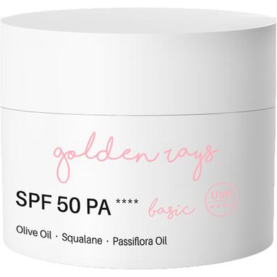Krem do twarzy nawilżający z filtrem SPF 50 PA++++ - Basic Nacomi