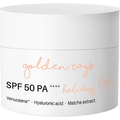 Next level - Krem do twarzy przeciwzmarszczkowy z filtrem SPF 50 PA++++ - Holiday Nacomi