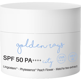 Nacomi Krem do twarzy antyoksydacyjny z filtrem SPF 50 PA++++ - City, 50 ml