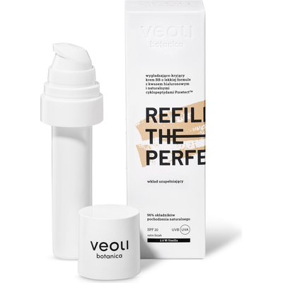 Refill the perfection - wkład do kremu BB - odcień VANILLA (2.0 W) Veoli Botanica