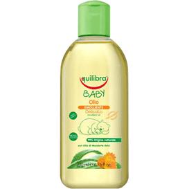 Equilibra Naturalna oliwka pielęgnacyjna dla dzieci 0m+, 200 ml