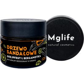 Mglife Naturalny dezodorant w kremie - Drzewo sandałowe, 50 ml
