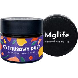 Mglife Naturalny dezodorant w kremie - Cytrusowy duet, 50 ml