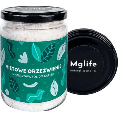 Miętowe orzeźwienie - Maganezowa sól do kąpieli Mglife