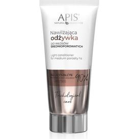 APIS Nawilżająca odżywka do włosów średnioporowatych, 200 ml