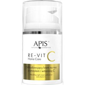 APIS RE-VIT C Odbudowujący krem na noc z retinolem i witaminą C, 50 ml