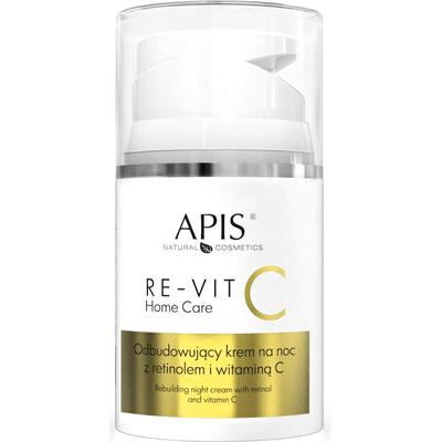 RE-VIT C Odbudowujący krem na noc z retinolem i witaminą C APIS