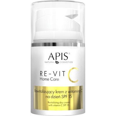 RE-VIT C Rewitalizujący krem z witaminą C na dzien SPF 15 APIS