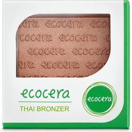 Ecocera Rozświetlający bronzer prasowany - Thai, 10 g