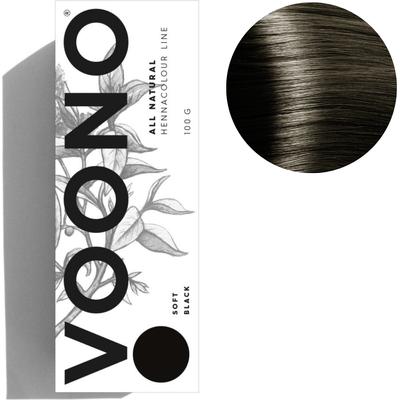 Henna premium - Soft black - Miękka czerń VOONO