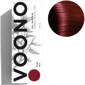 VOONO Henna premium - Wine red - Czerwone wino, 100 g