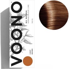 VOONO Henna premium - Light brown - Jasny brąz, 100 g