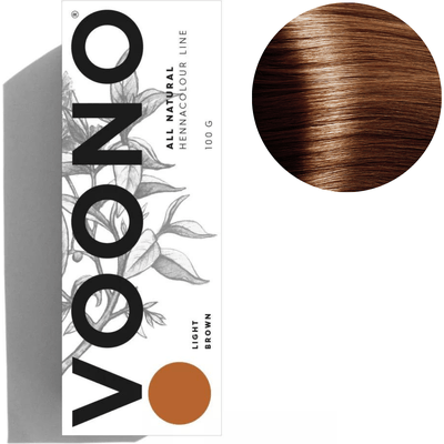 Henna premium - Light brown - Jasny brąz VOONO