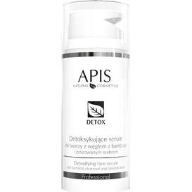 APIS Serum detoksykujące z węglem z bambusa i jonizowanym srebrem, 100 ml