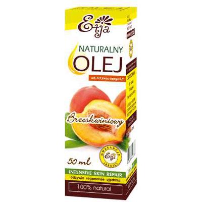 Naturalny olej brzoskwiniowy Etja