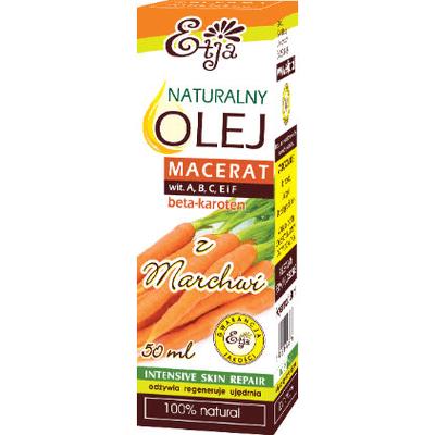 Naturalny olej z nasion marchwi (macerat) Etja