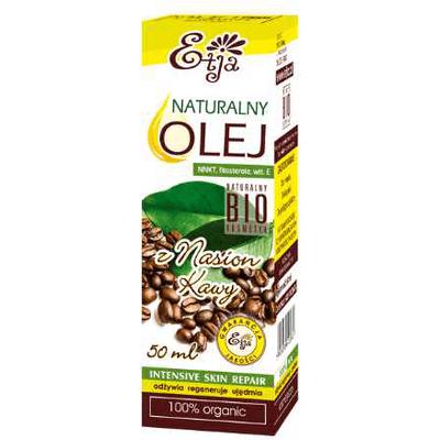 Naturalny olej z nasion kawy BIO Etja