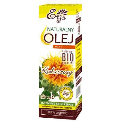 Naturalny olej z krokosza barwierskiego BIO Etja