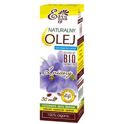 Naturalny olej lniany BIO Etja