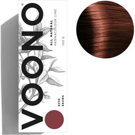 VOONO Henna premium - Rose brown - Różowy brąz, 100 g